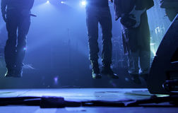 Concert rock scene Stock Images