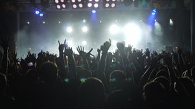 Concert royalty free stock photo