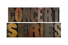Concert Series Stock Image