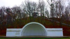 Concert Shell à Gdynia, Pologne photos stock