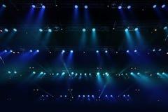 Concert spot lighting Royalty Free Stock Image