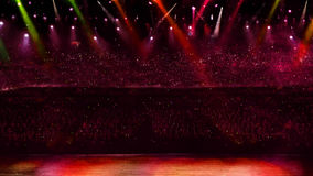 Concert spotlight Stock Photos