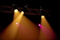 Concert spotlight Stock Image