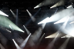 Concert spotlights Royalty Free Stock Image