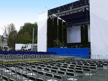 Concert stage royalty free stock image