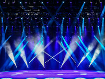 Free Concert Stage Stock Image - 54583461