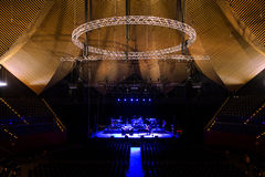 Concert Stage in Berlin Tempodrom Royalty Free Stock Photo