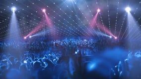 Concert stage 3d light
