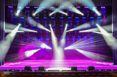 Concert stage Royalty Free Stock Images