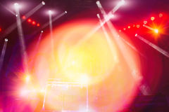 Concert stage lighting and lighting effects Stock Photography