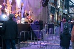 Concert on the street Stock Photos
