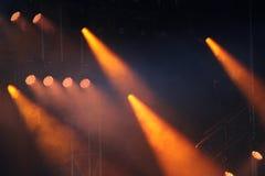 Concert Strobe Lights Royalty Free Stock Image