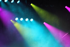 Concert Strobe Lights Royalty Free Stock Photo