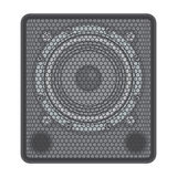 Concert Subwoofer Speaker Royalty Free Stock Photography