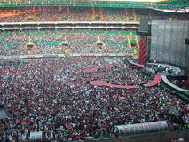 Concert U2 Image libre de droits