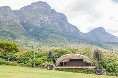 Concert venue in the  Kirstenbosch National Botanical Gardens Royalty Free Stock Photo