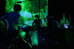 Concert vert image libre de droits