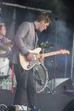 Concertez le groupe St Paul de musique de festival et les os cassés Photo libre de droits