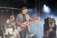 Concertez le groupe St Paul de musique de festival et les os cassés Image stock