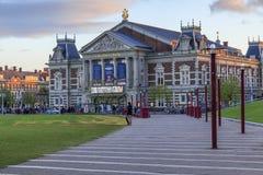 他Concertgebouw的大厦,阿姆斯特丹 免版税库存图片