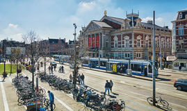 The Concertgebouw in Amsterdam city center. Royalty Free Stock Images