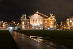 Concertgebouw, Amsterdam, Netherlands. The Royal Concertgebouw is a concert hall in Amsterdam, Netherlands. Because of its highly regarded acoustics, the Stock Images