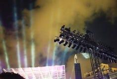 Concerti nella mia mente il concerto della mia vita Immagine Stock Libera da Diritti