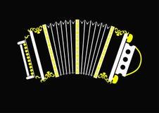 concertina русский Стоковое Фото