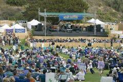 Concerto all'aperto che caratterizza Michael McDonald in Ventura, California per Ventura Hillsides Conservancy e Ventura Hillside immagine stock libera da diritti