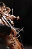 Concerto da música clássica Imagem de Stock Royalty Free