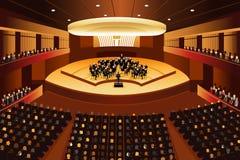 Concerto da música clássica Imagem de Stock