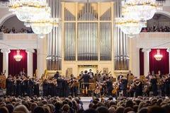 Concerto da música clássica Imagens de Stock Royalty Free