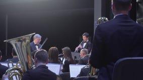 Concerto da orquestra de Philarmonic vídeos de arquivo