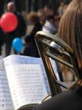 Concerto da rua Fotografia de Stock Royalty Free