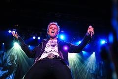 Concerto de Billy Idol fotos de stock