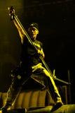 Concerto de Iron Maiden foto de stock