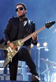 CONCERTO de Lenny Kravitz foto de stock royalty free