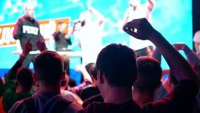 Concerto del partito della folla della gente archivi video