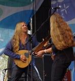 Concerto della banda Fejd (Svezia) al festival piega in Estoni Fotografia Stock Libera da Diritti