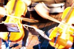 Concerto della corda Fotografie Stock
