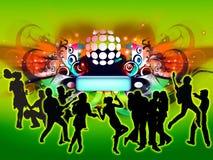Concerto della discoteca Immagini Stock