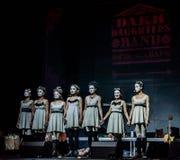 Concerto delle figlie di Dakh in Sentrum, Kiev, 23.04.2014 Immagine Stock Libera da Diritti