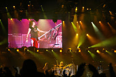Concerto di Aerosmith Fotografia Stock
