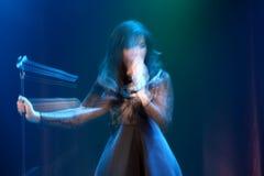 Concerto di Indila Immagini Stock