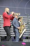 concerto di jazz Fotografia Stock Libera da Diritti