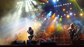 Concerto di Manowar Fotografia Stock