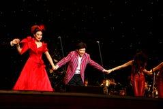 Concerto di Mo Hualun nella notte di Natale fotografia stock