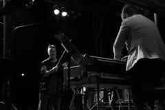 Concerto di notte di Nigel Kennedy della violista Fotografie Stock