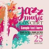 Concerto do festival de música jazz Fotografia de Stock