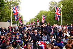 Concerto do jubileu 2012 da rainha Imagens de Stock Royalty Free